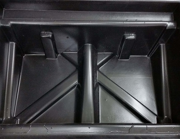 Rear Seat Underseat Storage Box