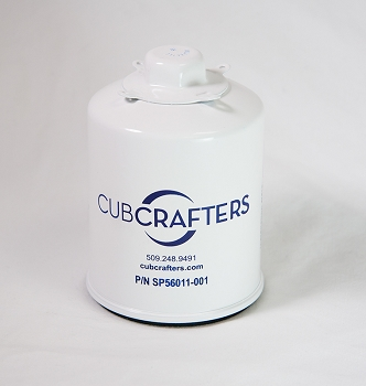 CubCrafters  Oil Filter for the Carbon Cub CC340 engine.