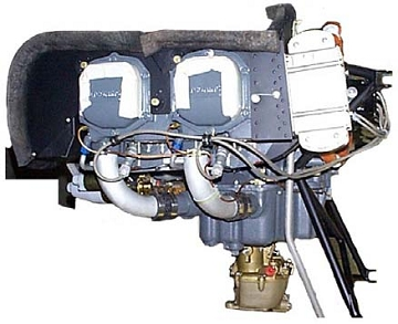 Rear Mounted Oil Cooler Kit for O-320 Engines