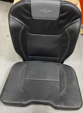 Black Leather Rear Seat