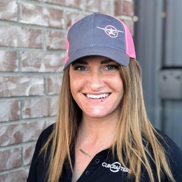 Ladies Adventure Further Trucker Cap, Coal/Pink