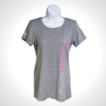 Ladies Adventure Further Tee