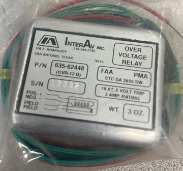 Over Voltage Relay (756-597 Interav)