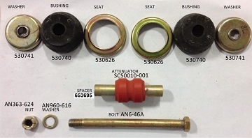 Sport Cub Engine Shock Mount Kit (4 kits required)