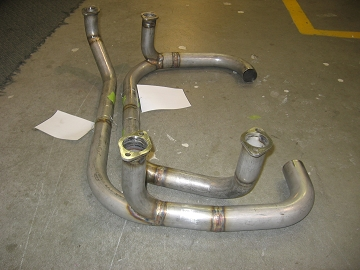 Rear Hi-Flow Exhaust Stack Assembly