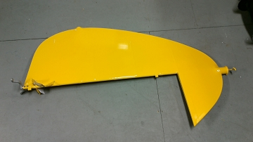 Covered PA-18 Rudder Assembly with Strobe