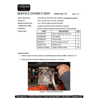 Carburetor and Intake upgrades
