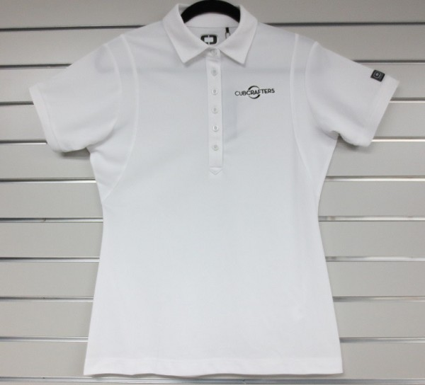 Womens Polo with Embroidered CubCrafters Logo