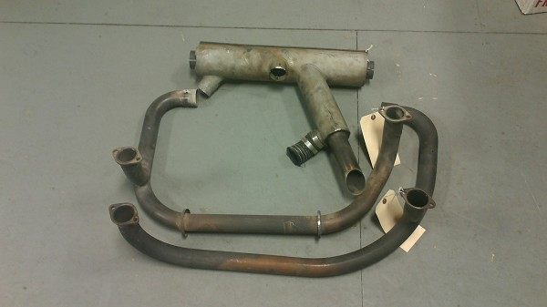 PA-18 Exhaust Stack Set with Muffler