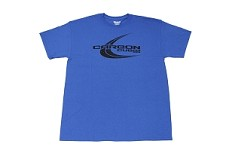 Carbon Cub SS Distressed Logo, Blue, Short Sleeve T-Shirt
